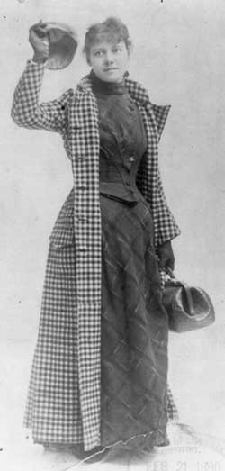 Nellie Bly, from Library of Congress