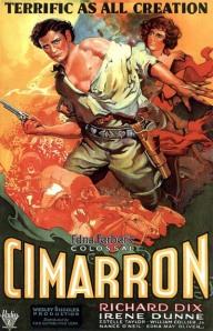1931 Cimarron film poster