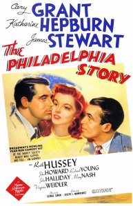 Movie poster for The Philadelphia Story