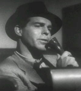 Fred MacMurray from the film Double Indemnity