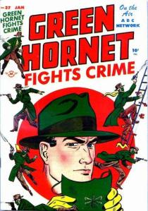 1948 Green Hornet comic book cover
