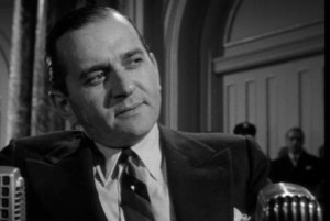 "A reporter on ""Easy Aces,"" Gabel played a gangster being investigated b a newspaper in the 1951 film"