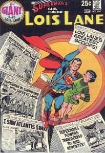 Comic cover showing Lois's greatest stories