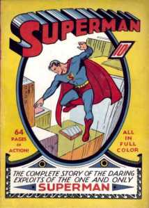 Cover of Superman comic