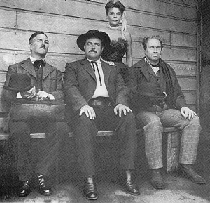 Group portrait in Western costumes