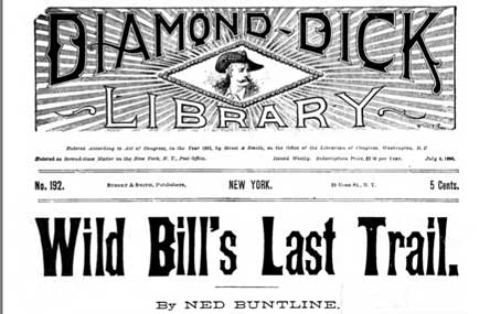 Wild Bill's Last Trail, cover