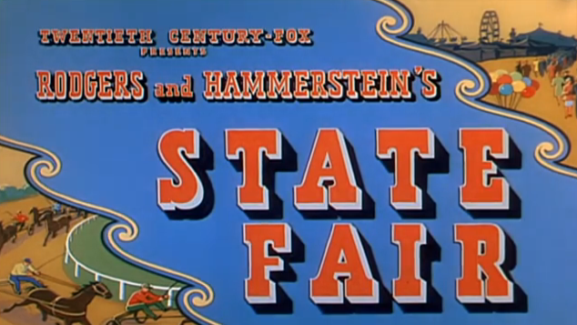 Billed as Rodgers and Hammerstein's State Fair
