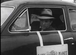 Kirk Alyn as Clark Kent in 1950 film