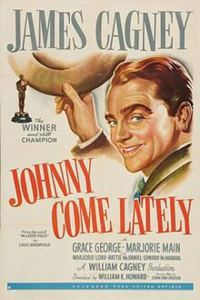 Johnny Come Lately movie poster