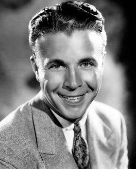 Movie publicity shot of Dick Powell